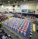 В Анапе прошла церемония открытия финального этапа соревнований по боевым искусствам в рамках IX Спартакиады учащихся.